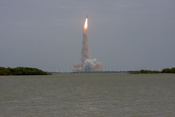 STS-135 Atlantis On Its Way NASA Causeway